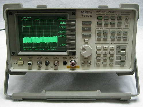 HP KEYSIGHT 8563E SPECTRUM ANALYZER, 30 Hz - 26.5 GHz