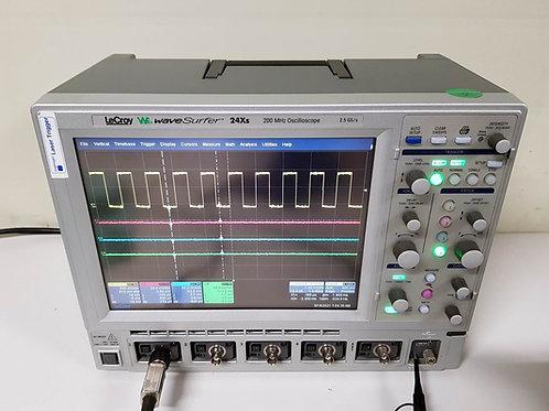 Lecroy WaveSurfer 24Xs 200MHz Oscilloscope