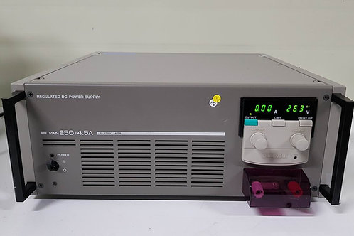 Kikusui PAN250-4.5A DC Power Supply (250V/ 4.5A)