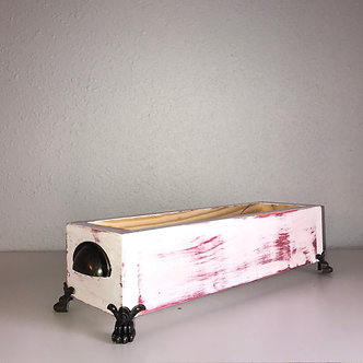 White & Red Table Box