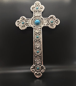Silver Finished Cross