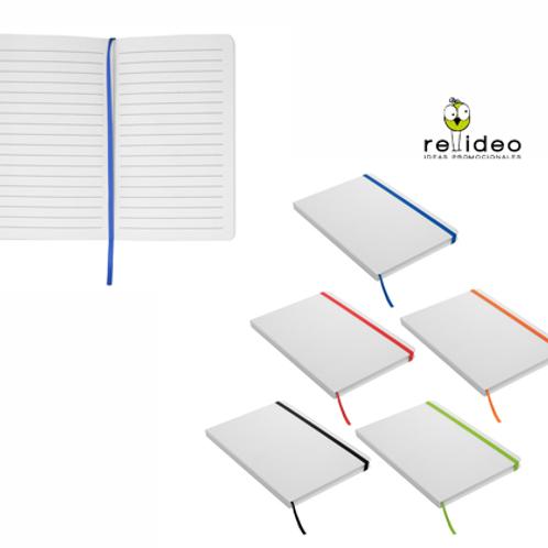 Cuaderno Blanco Color CUA03