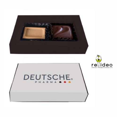 Caja x 2 chocolates CHO25