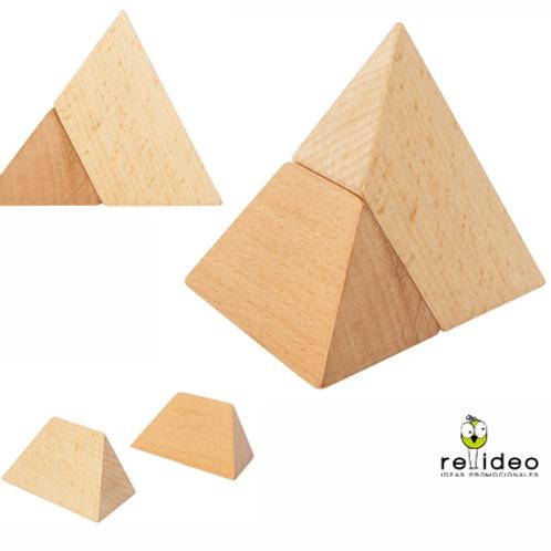 Juego piramide madera EN18