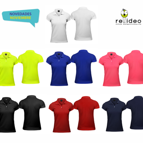 Polera tipo Dry-fit Mujer POL04