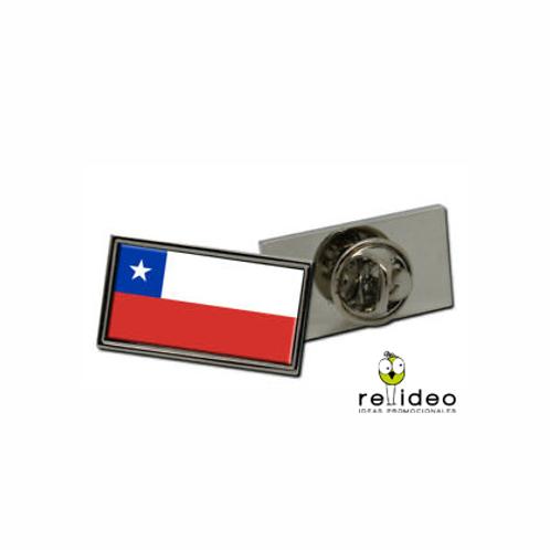 Pin Dome Bandera Chile CHP04