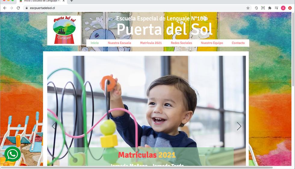 Escuela de Lenguaje Puerta del Sol