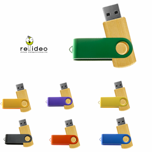 Pendrive Bambu Colors PEN05