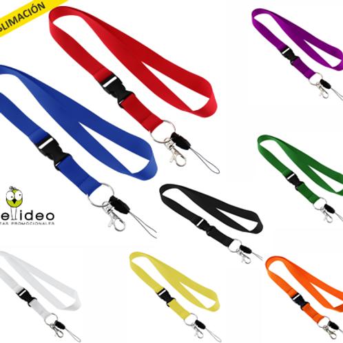 Lanyard Liso C/accesorios LAN01