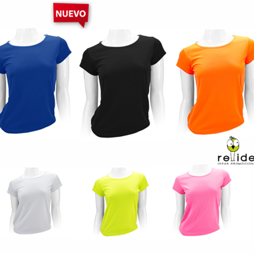 Polera tipo dry-fit mujer POL10