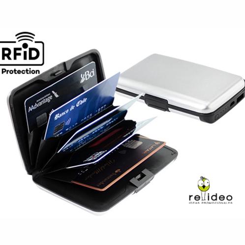 Powerbank con porta-tarjeta anticlonacion TEC22