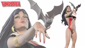Vampirella 50th Anniversary Statue Kickstarter blasts past goal! First stretch goal announced