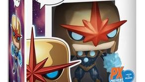 COLLECTIBLES: PREVIEWS Exclusive Marvel Nova Prime Funko POP! Figure Soars into Comic Shops