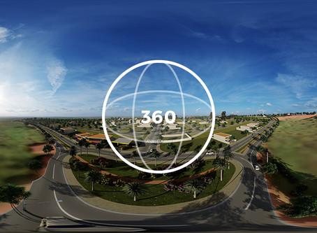 Confira em 360°