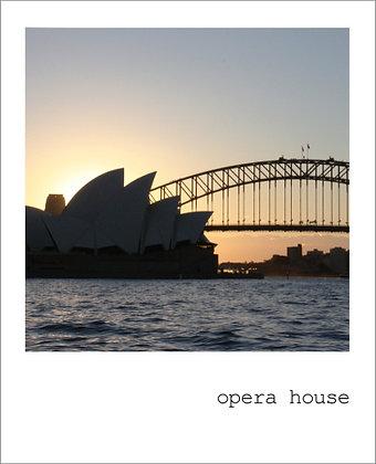 postcard | opera house {SYD101}