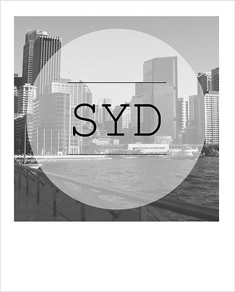 postcard | SYD city {SYD161}