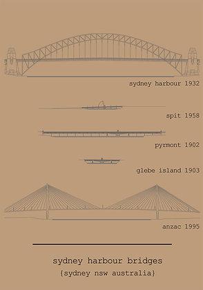 A5 sketch/notebook | sydney bridges {SYD401}
