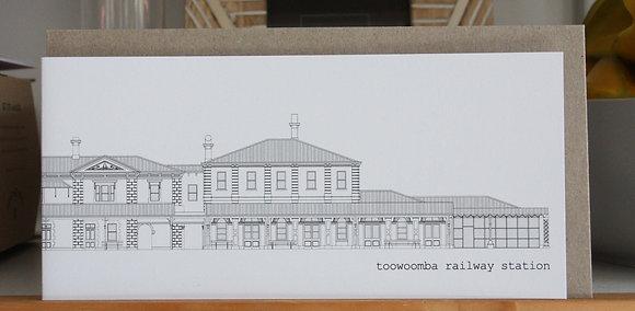 dl card | railway station {TWB203}