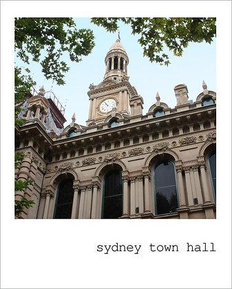 postcard | sydney town hall {SYD104}