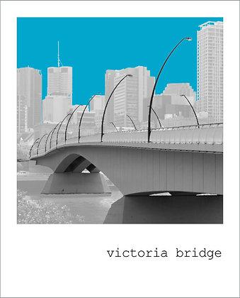 postcard | victoria bridge {BNE121}