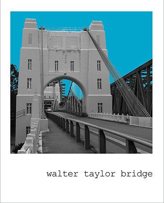 postcard | walter taylor bridge {BNE124}