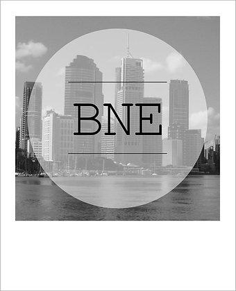 postcard - BNE city {BNE161}