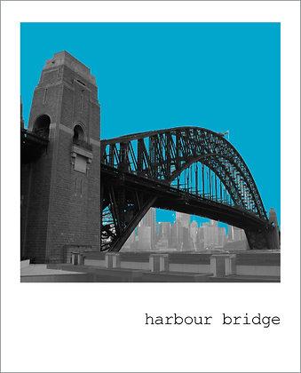 postcard | harbour bridge {SYD121}