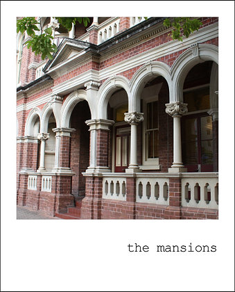 postcard | the mansions {BNE104}