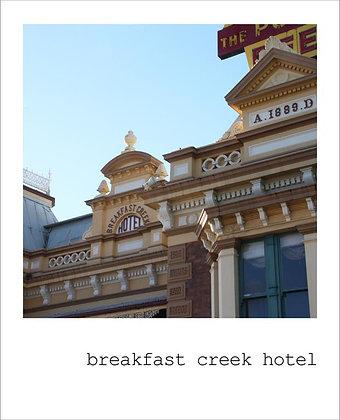 postcard | breakfast creek hotel {BNE105}