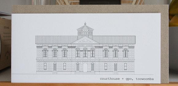 dl card | courthouse +gpo {TWB202}