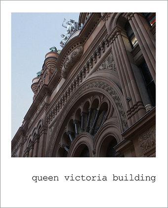 postcard   queen victoria building {SYD102}