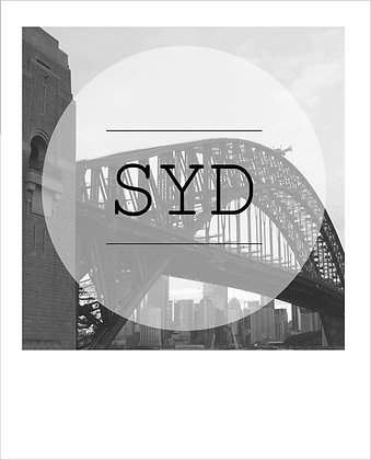 postcard | SYD bridge {SYD162}
