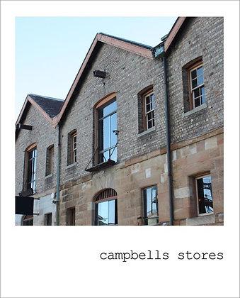 postcard |  campbells stores {SYD105}