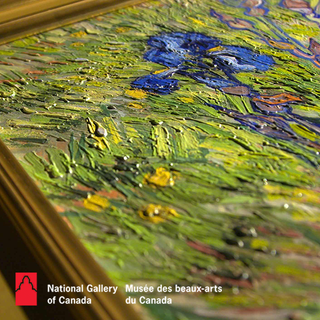 Van Gogh Iris Textured Replica