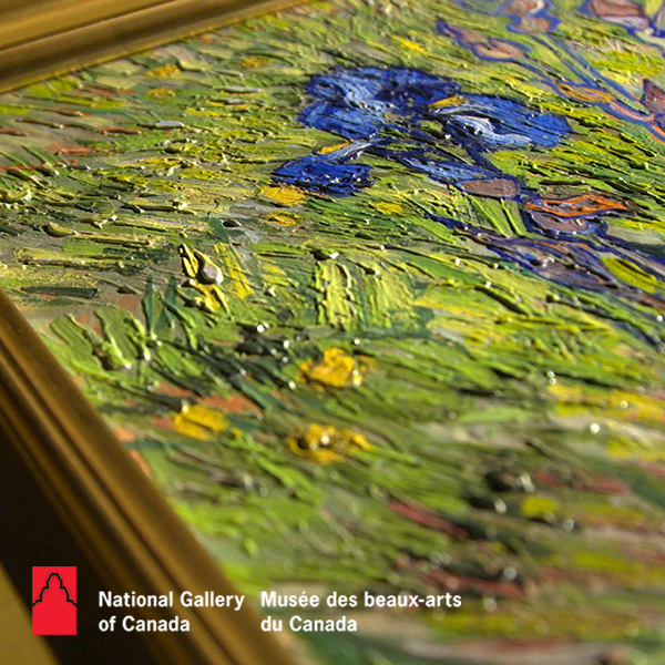 Van Gogh Iris Textured Replication