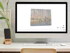 Arivu Visualization with Monet artwork.p