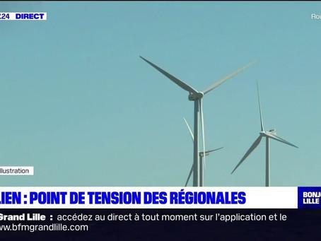 Élections régionales et départementales : l'éolien s'invite