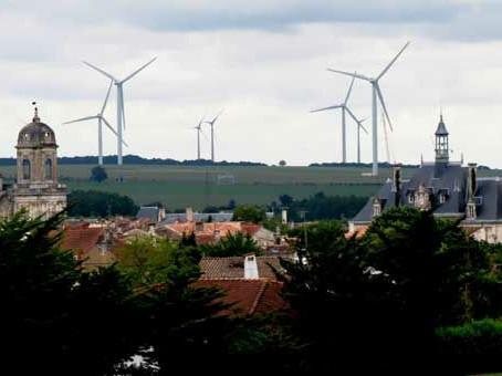 Le très vert champ lexical et visuel de l'éolien : ⚠ greenwashing !