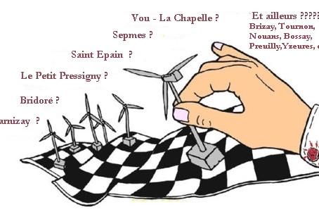 Humeur (mauvaise) : projet éolien de Vou - La Chapelle Blanche et projet éolien de Sepmes (37)