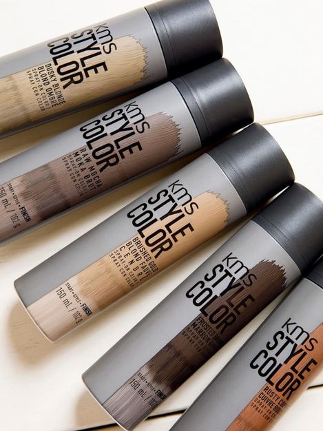KMS' Spray-On Hair Colour Has Landed