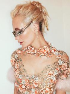 The British Fashion Awards' Beauty Close-Up