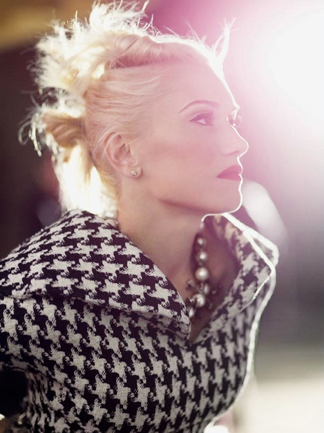 Gwen Stefani Gives Us A Masterclass In Houndstooth
