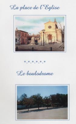Place de l'Eglise et Boulodrome