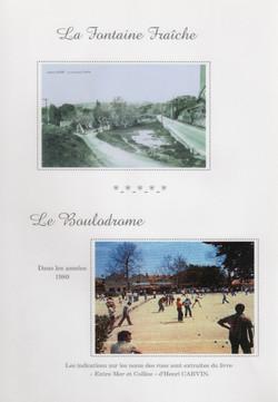 La Fontaine fraîche et le Boulodrome
