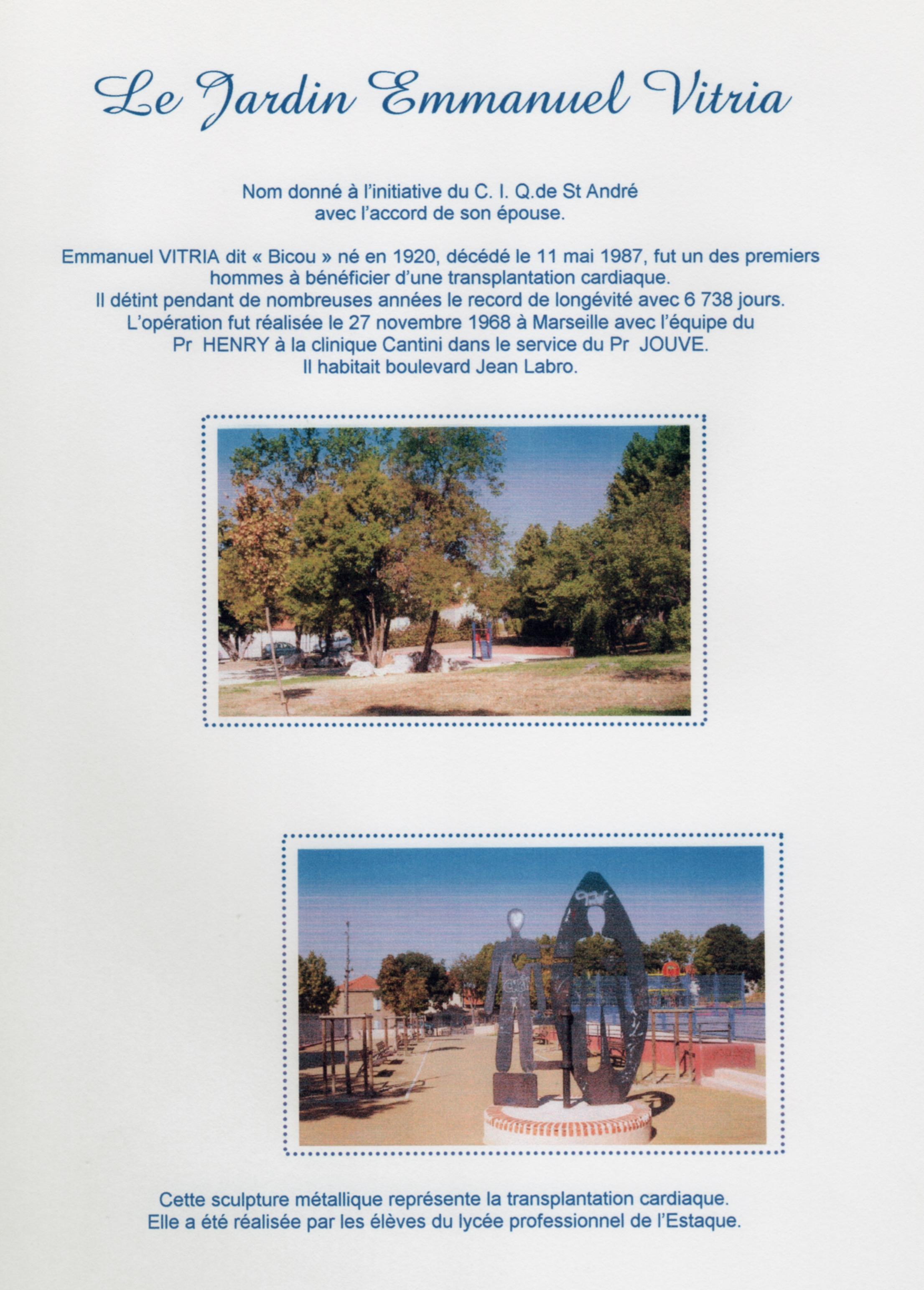 Jardin Emmanuel Vitria
