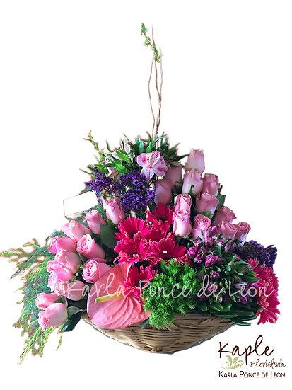 Arreglo Floral | Rosas | Anturio