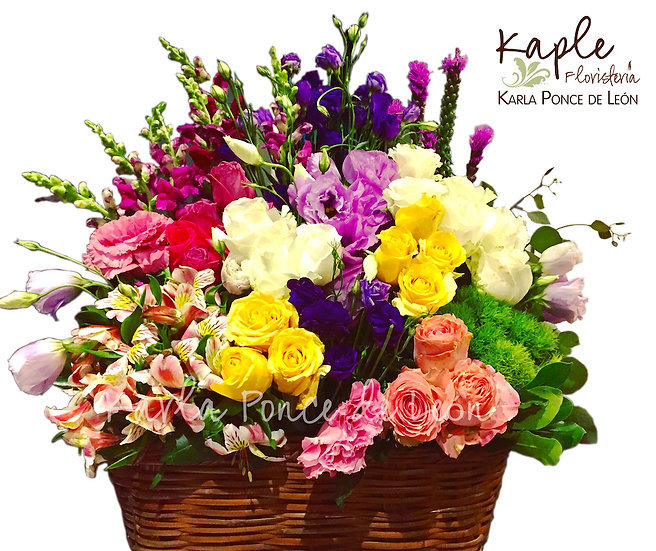 Arreglo Floral | Rosas | Alststromerias | Lisianthus