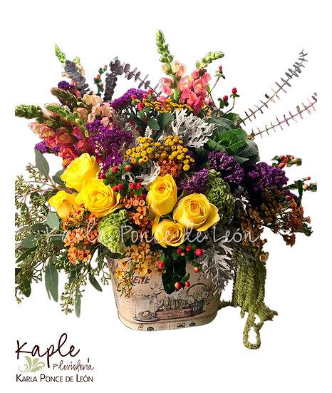 Arreglo Floral | Rosas | Hortencias | Baby Rose