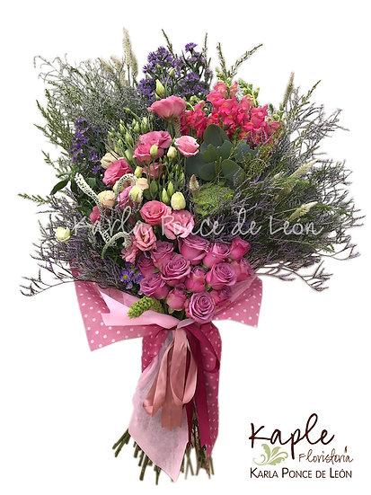 Arreglo Floral | Rosas | Lisianthus
