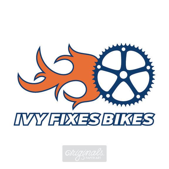 IVY FIXES BIKES